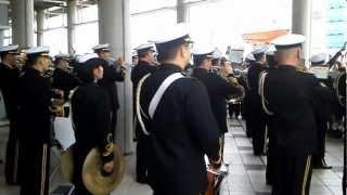 getlinkyoutube.com-軍艦行進曲 蛍の光 海上自衛隊 音楽隊 Warship March & Auld Lang Syne JMSDF brass band