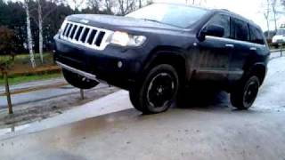 getlinkyoutube.com-Jeep Grand Cherokee - Quadra Trac II / Quadra Lift test