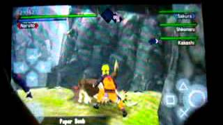 getlinkyoutube.com-PPSSPP - Naruto Kizuna Drive - Gameplay - Xperia Mini Pro