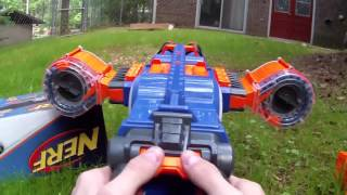 getlinkyoutube.com-Honest Review: The XD Elite Blue Rhino Fire (Double Darts to 100 Shots!)