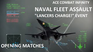 "getlinkyoutube.com-Ace Combat Infinity: ""Lancers Charge!"" NTDM opening matches"
