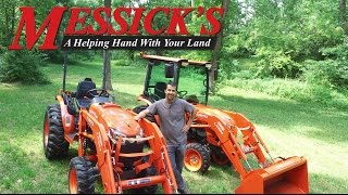 getlinkyoutube.com-Kubota B50-Series tractors, B2650 & B3350. Review and functions | Messick's