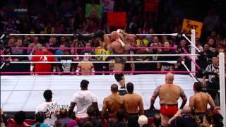 Sheamus vs. CM Punk - Champion vs. Champion Lumberjack Match: Raw, Oct. 22, 2012