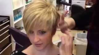 getlinkyoutube.com-Blonde makeover by Stephanie