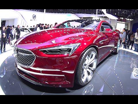 2016, 2017 Buick Avista concept shows Buick's performance potential