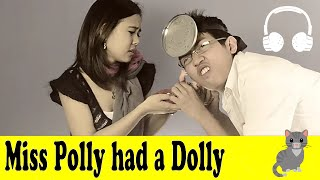 getlinkyoutube.com-Miss Polly had a Dolly | Family Sing Along - Muffin Songs