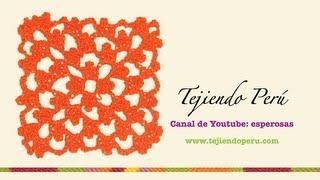 Punto fantasía en crochet # 18: tejiendo en cuadrado infinito