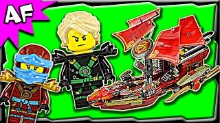 getlinkyoutube.com-Lego Ninjago Final Flight of DESTINY'S BOUNTY 70738 Ghost Army Stop Motion Build Review
