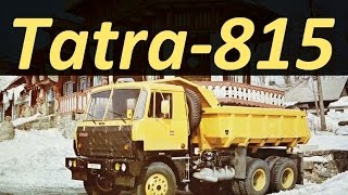 getlinkyoutube.com-Грузовик Tatra 815 (АВТО СССР)
