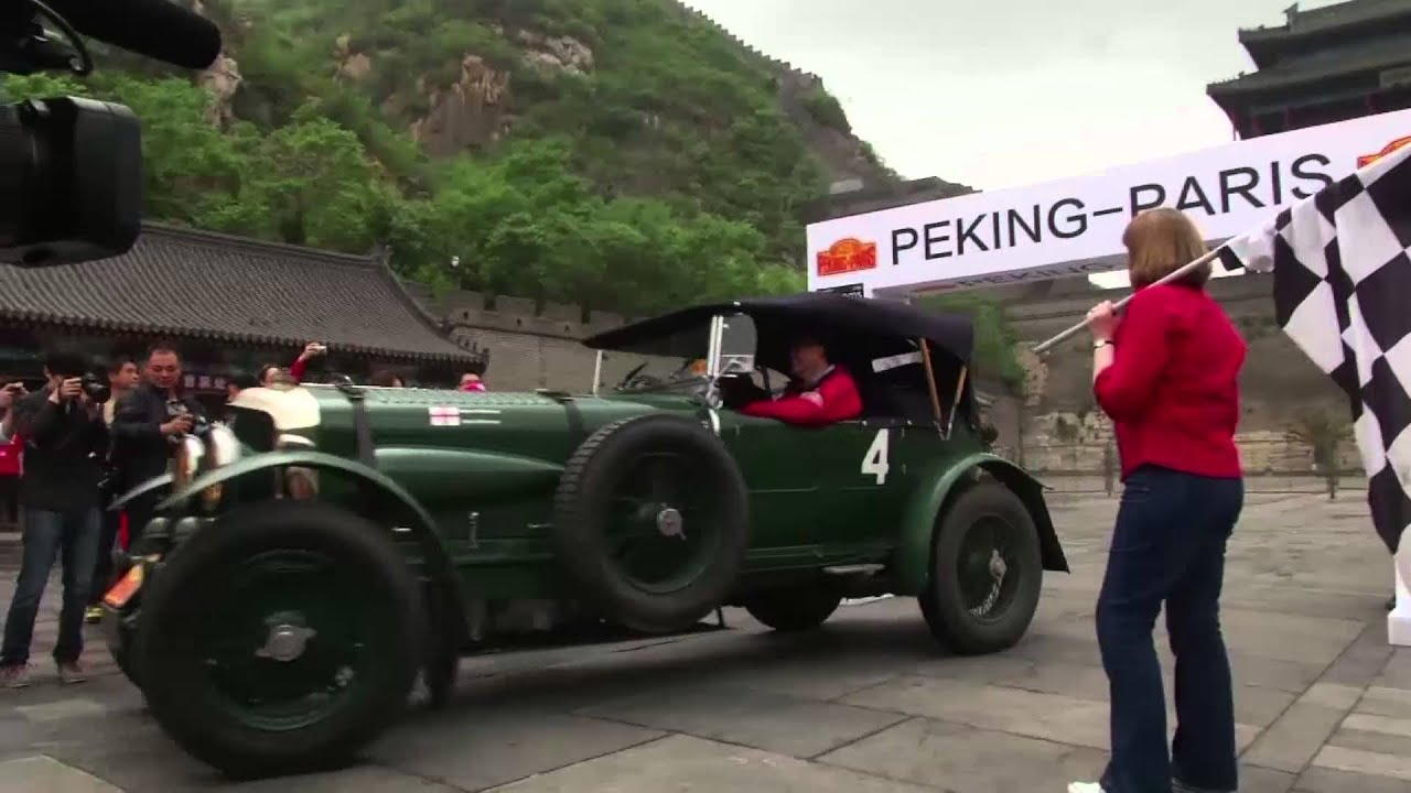 maxresdefault Peking to Paris Vintage Car Challenge roars off in China