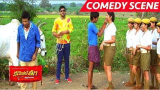 getlinkyoutube.com-Dhanraj Full Comedy With Lady Constables - Full Comedy - Current Theega Movie Scenes