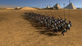 getlinkyoutube.com-Total War: Rome 2's Deadliest Pike Phalanx Round 2: Hellenic Royal Guard vs Silver Shield Pikemen