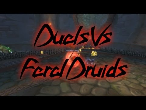 World of Warcraft Swifty Duels Vs Feral Druids (WoW Gameplay/Commentary)