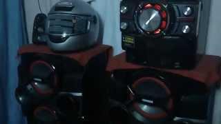 getlinkyoutube.com-LG X BOOM CM 9540 VS PANASONIC MAX 770 (EL CARNABAL)
