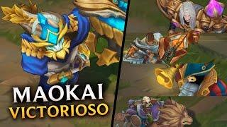 getlinkyoutube.com-Maokai Victorioso + Nuevas Skins: Karthus, Jayce, Bardo y Sejuani | Noticias LOL