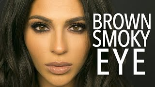 getlinkyoutube.com-Brown Smokey Eye Makeup Tutorial | Teni Panosian
