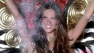 getlinkyoutube.com-Alessandra Ambrosio Victoria's Secret Runway Walk Compilation 2005-2015 HD