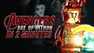 LEGO The Age of Ultron in 2 Minutes
