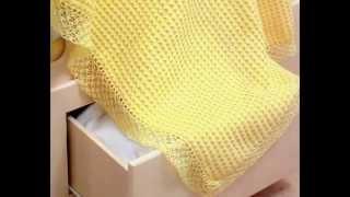 getlinkyoutube.com-Como Tejer Cobija con Puntada Tapetillo Crochet Medio grado dificultad
