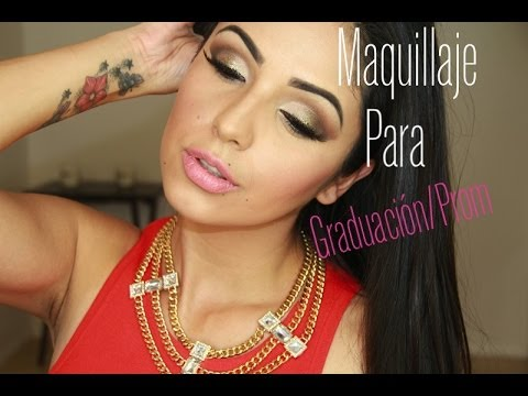 Maquillaje para graduacion/ Prom makeup