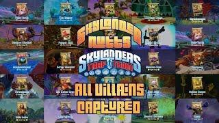 getlinkyoutube.com-All Villains of Skylanders Trap Team Captured