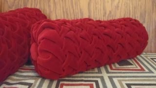 getlinkyoutube.com-Velvet Smocked Bolster 1