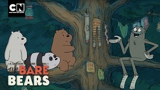getlinkyoutube.com-We Bare Bears | Christmas Tree Party! | Cartoon Network