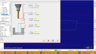 getlinkyoutube.com-Introducción a MasterCAM X7 - Mecanizado cuadrado 30 x 30 mm