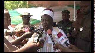 Reactions To President Buhari's Visit To Maiduguri To Celebrate #NigeriaAt57 With Troops