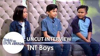 TWBA Uncut Interview: TNT Boys Keifer, Mackie and Francis
