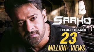 Saaho - Official Telugu Teaser | Prabhas, Sujeeth | UV Creations