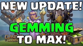 getlinkyoutube.com-Clash of Clans | NEW UPDATE - 170,000 GEMS TO MAX! | JORGE YAO