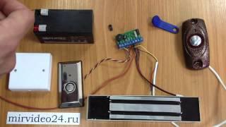 Как программировать ключи touch memory