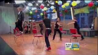 getlinkyoutube.com-Good Morning America - Teen Beach Movie Cast - Cruisin' For A Bruisin' [HD]