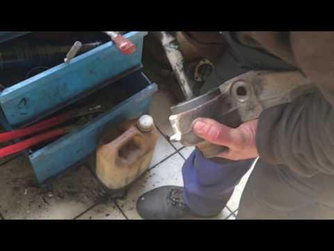 Renault Kangoo, замена сайлентблока задней балки
