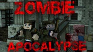 getlinkyoutube.com-Zombie Apocalypse (Minecraft Adventure Map)