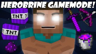 getlinkyoutube.com-If a Herobrine Gamemode was Added - Minecraft