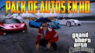 """getlinkyoutube.com-✫Pack de Autos Deportivos Para GTA Sa compatibles con  """"IMVEHFT MOD""""✫"""
