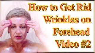 getlinkyoutube.com-How to Get Rid of Wrinkles on Forehead in Home, video 2