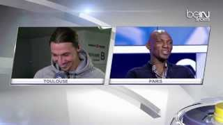 getlinkyoutube.com-[Must watch] Funny interview Zlatan Ibrahimovic & Camara 24/02/2014 HD