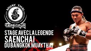 """Stage avec La légende """"Saenchai » du Bangkok Muaythai Gym à la team NAJA d'Hellemmes"""