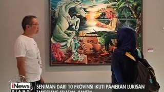 getlinkyoutube.com-Pameran Lukisan & Seni Patung Karya Seniman 10 Provinsi di Indonesia - iNews Siang 22/02