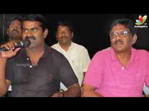 Seeman blasts at Vadivelu for compromising with Telugu outfits | Tenaliraman Issue | Cinema news