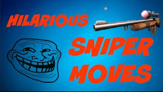 getlinkyoutube.com-Hilarious Sniper Moves! | Respawnables | Montages