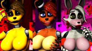 getlinkyoutube.com-[SFM FNAF] Golden Freddy, Freddy, Mangle Sexy Jumpscare Compilation
