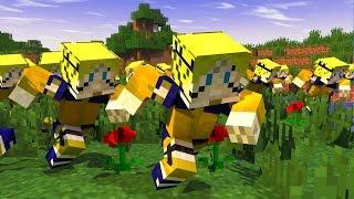 getlinkyoutube.com-Minecraft Mods - MORPH HIDE AND SEEK - NARUTO MOD!