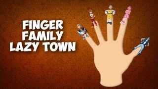 getlinkyoutube.com-DADDY FINGER FAMILY SONG Lazy Town Nursery Rhymes for Children Babies and Toddlers
