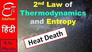 Second Law of Thermodynamics and Entropy | explained in HINDI