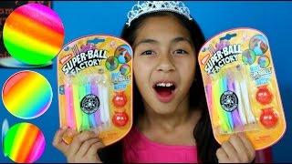 getlinkyoutube.com-Super Ball Factory Make Rainbow Super Balls| B2cutecupcakes