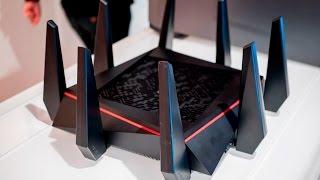 Trên tay ASUS RT AC5300 Router wifi nhanh nhất thế giới - IFA 2015